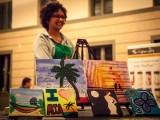Artist at Miami Artopia Event by Photographer Steven Hodel