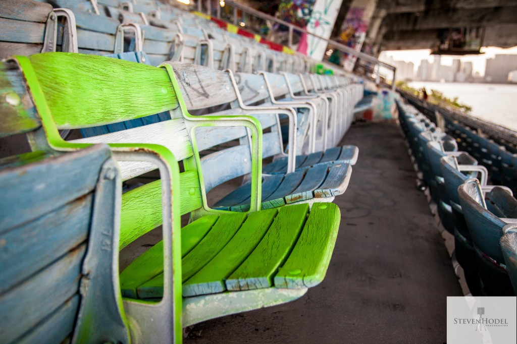 Steven Hodel Photography - The Silent Chair of Miami Marine Stadium